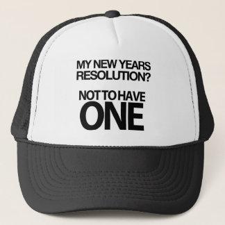 O ano novo divertido do boné da definição
