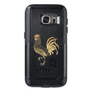 O ano novo do galo dourado Otterbox 2017 Samsung