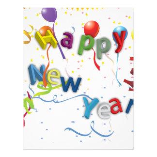 O ano novo do insecto da celebração #3 panfleto
