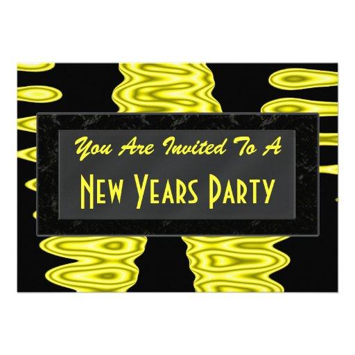 O ano novo do partido convites