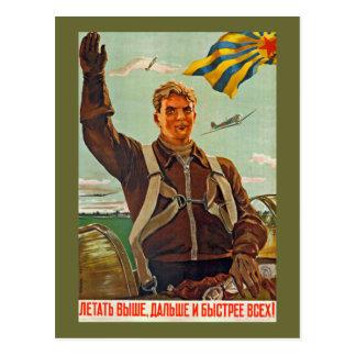 O ano novo socialista do cartão 9 cartão postal