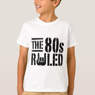O anos 80 ordenado camiseta