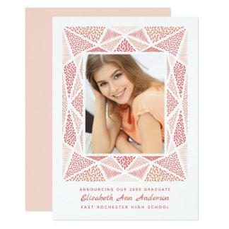 O anúncio da foto da graduação de Esprit cora