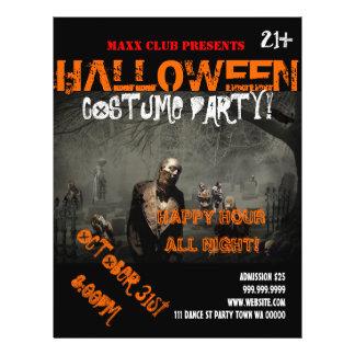 O anúncio DJ do evento do partido do Dia das Panfletos Personalizados