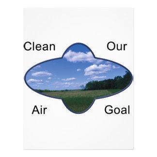 O ar de Kleen é nosso objetivo Modelo De Panfleto