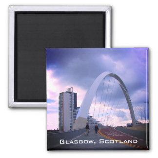 O arco de Clyde, Glasgow, Scotland, imã de