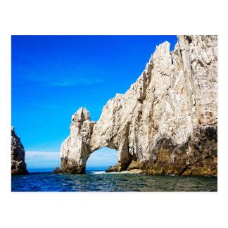 O arco famoso em Cabo San Lucas Cartão Postal