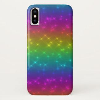 O arco-íris brilhante Sparkles capa de telefone