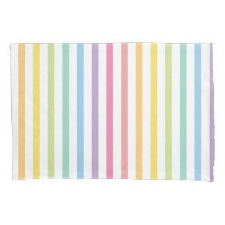 O arco-íris da cor Pastel listra o teste padrão