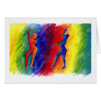 O arco-íris desgaseifica o cartão
