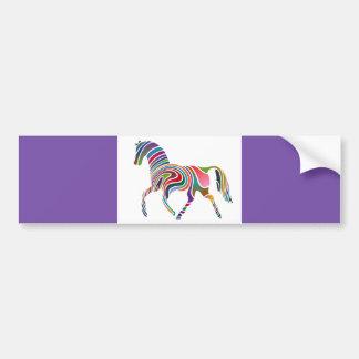 o arco-íris do cavalo dos DESENHOS ANIMADOS Adesivo Para Carro