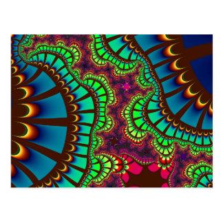 O arco-íris do outono Remix cartão