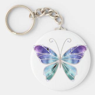 O arco-íris legal das máscaras voa a borboleta chaveiros