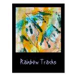 O arco-íris segue o cartão por Janz