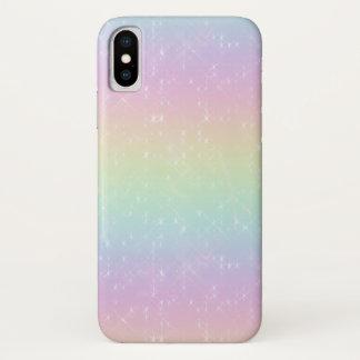 O arco-íris Sparkles capa de telefone móvel