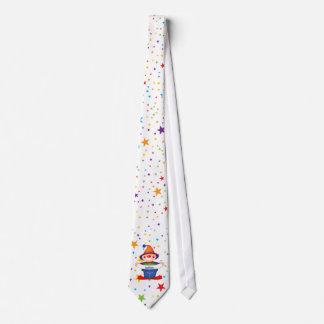 o arco-íris stars o palhaço gravata