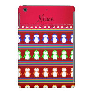O arco-íris vermelho conhecido personalizado capa para iPad mini retina