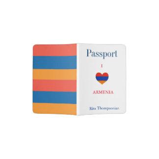 O arménio colore o suporte do passaporte de | capa para passaporte