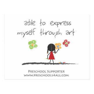 O artista cartao postal