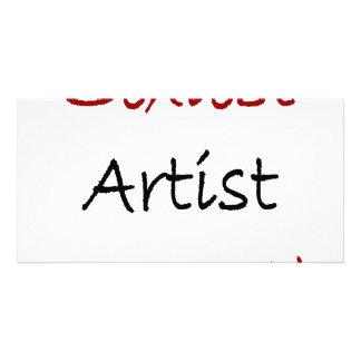 """O artista o mais """"sexy"""" na terra cartões com fotos"""