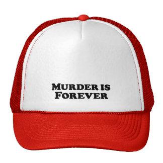 O assassinato é para sempre - básico boné