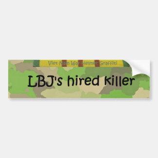 O assassino contratado de LBJ Adesivos