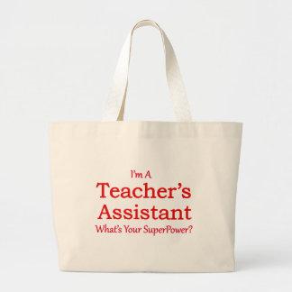 O assistente do professor sacola tote jumbo
