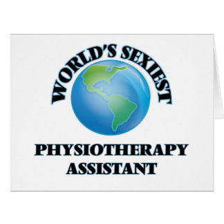 """O assistente o mais """"sexy"""" da fisioterapia do cartão"""