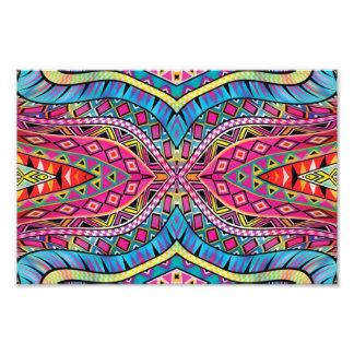O asteca do caleidoscópio inspirou o teste padrão impressão de foto