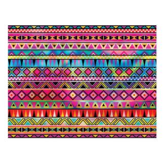 O asteca inspirou o teste padrão cartões postais