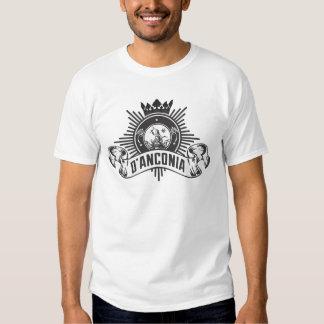 O atlas oficial Shrugged o cobre do d'Anconia do T-shirt