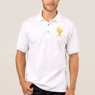O ATLAS oficial SHRUGGED o filme T Camisa Polo