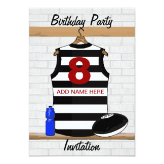 O Aussie ordena convites de festas de aniversários