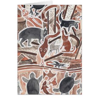 O australiano sonha #1 - 01 cartões