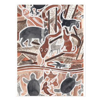 O australiano sonha #1 cartão postal