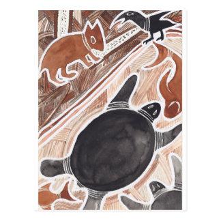O australiano sonha #3 cartão postal