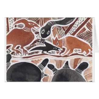 O australiano sonha #4 - 02 cartão comemorativo