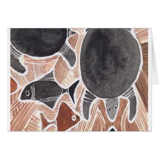 O australiano sonha #4 - 03 cartão comemorativo