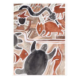 O australiano sonha #5 - 01 cartão postal