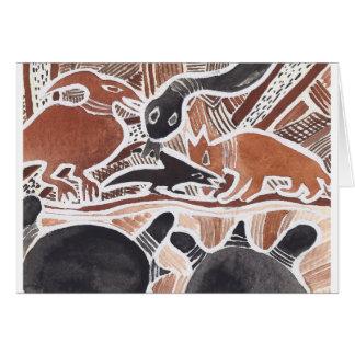 O australiano sonha o cartão Mythical 4c das