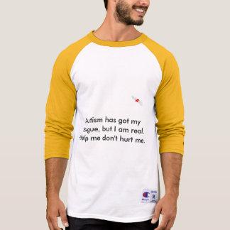 O autismo tem minha língua camiseta