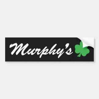 O autocolante no vidro traseiro de Murphy Adesivo Para Carro