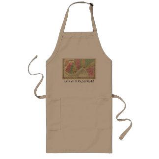 O avental do cozinhar comemora fazê-lo estilo de