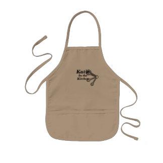 O avental dos miúdos ADICIONA SEU cozinheiro chefe