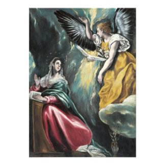 O aviso por El Greco Convite Personalizado