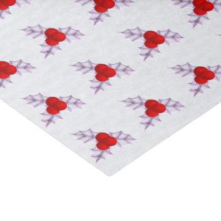 O azevinho da lavanda sae do lenço de papel do