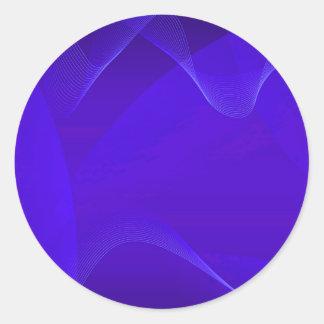 O azul acena I Adesivo