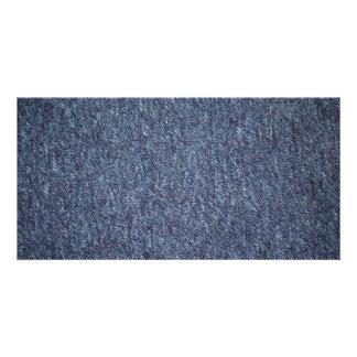 O AZUL Blue-carpet619 TEXTURES o PH de DIGITAL do Cartão Com Foto