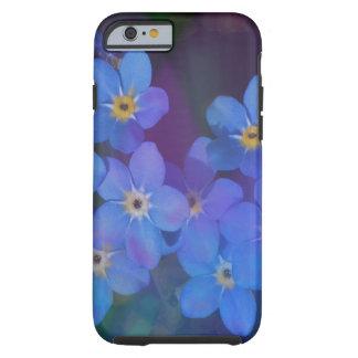 O azul bonito floresce capas de iphone