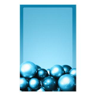O azul Cerulean Ornaments artigos de papelaria do